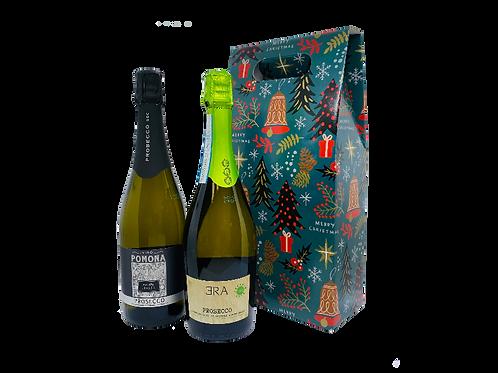 Foxy's Prosecco - Christmas Gift Set