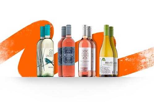 Foxy's Summer White & Rosé - 8 Bottle Selection