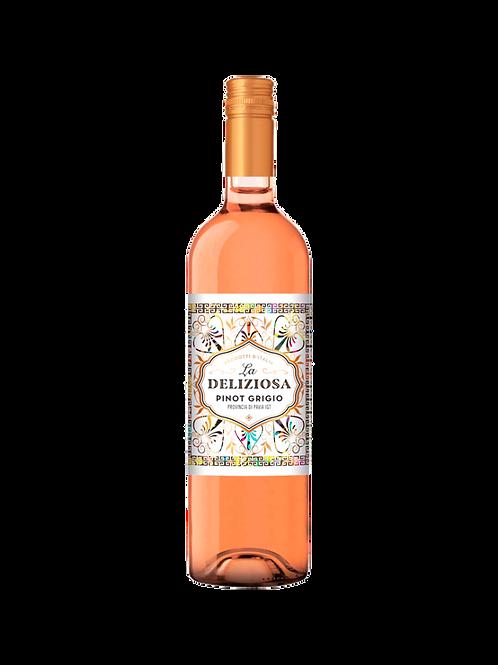 Pinot Grigio Rosé, La Deliziosa. Italy