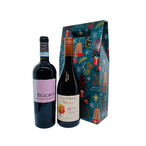 Foxy Super Red Wine - Christmas Gift Set