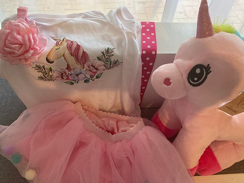 Toddler Unicorn Gift Box