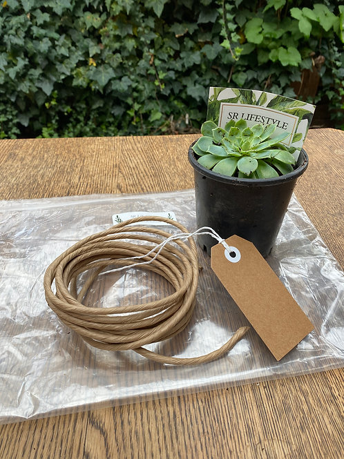 Make it yourself Kit - smaller succulent/enviro wrap