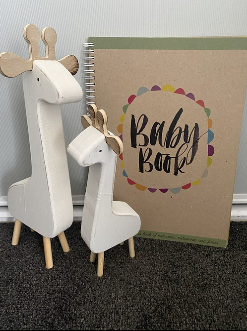 Little Giraffes Baby Book
