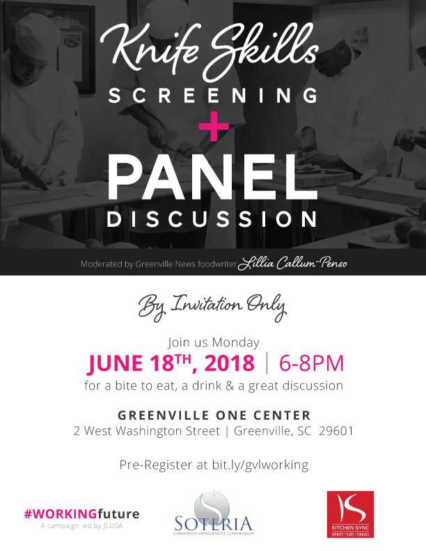 Knife Skills Screening & Panel Discussion