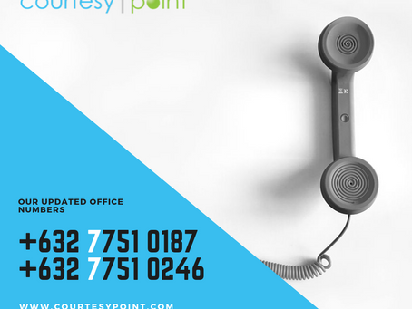 Our Updated Office Numbers!