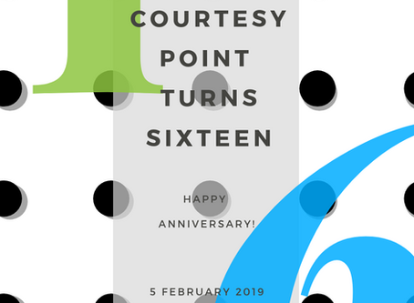 Happy 16th Anniversary, Courtesy Point!