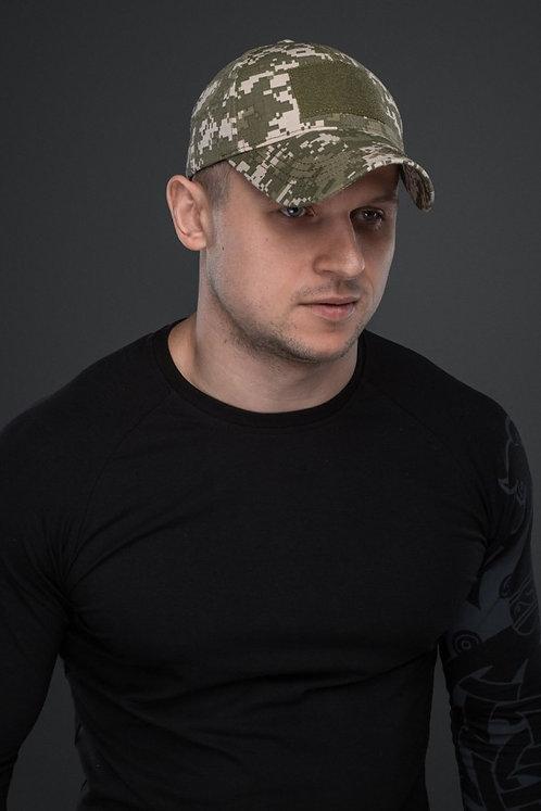 Бейсболка SVA STONE БЕЙСБОЛКА ШЕВРОН (ПIКСЕЛЬ)