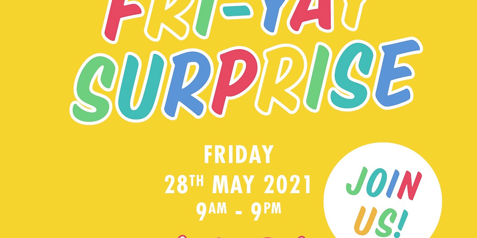 Fri-Yay Surprise Online Shopping Event
