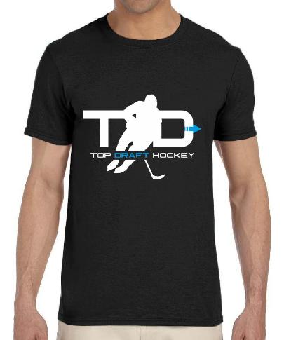 Top Draft Hockey - Men's T-shirt (Gildan Softstyle 7.5 oz.)