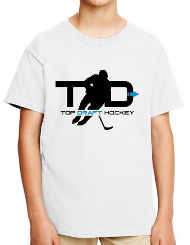 Top Draft Hockey - Youth T-shirt (Gildan - Softstyle 7.5 oz)