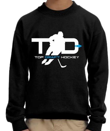 Top Draft Hockey - Youth Sweatshirt (Gildan)