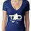 Thumbnail: Top Draft Hockey - Women's T-shirt (Next Level Deep V )