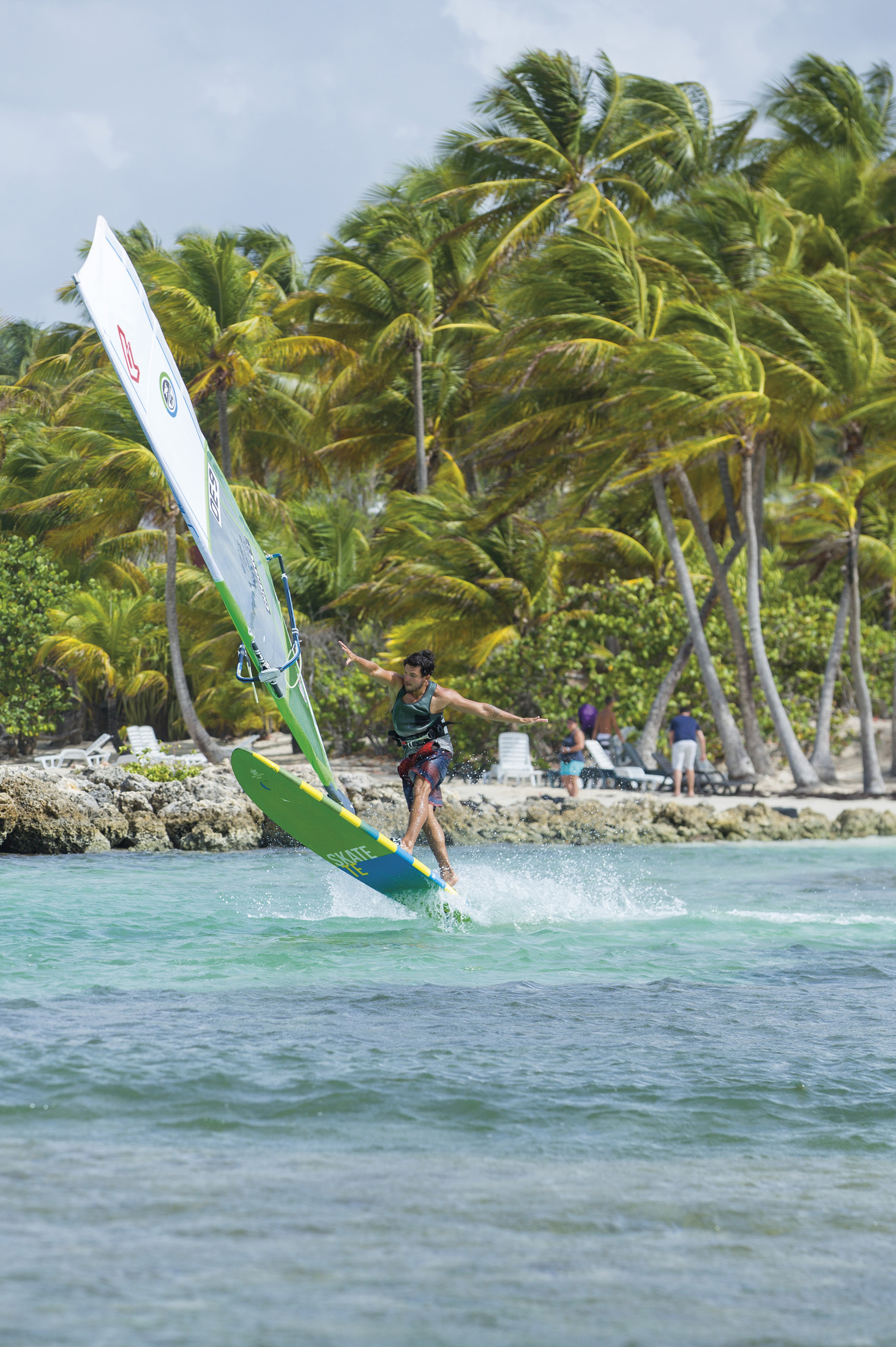 No Handed Flaka - Guadeloupe