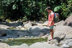 Checking fish - Guadeloupe