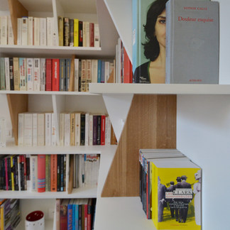 Un espace dédié à la lecture