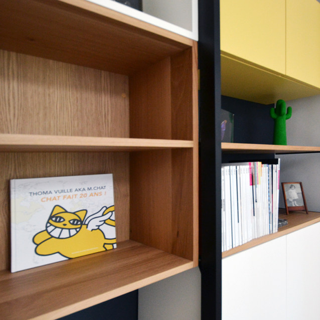 Une bibliothèque pour M. Chat