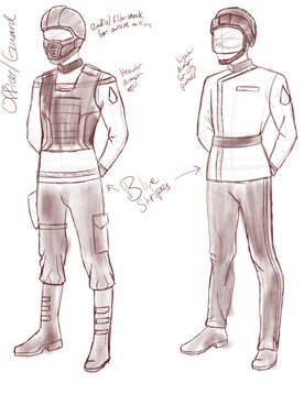 Guard Rough Sketch