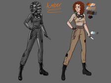 Amber Finished Concept