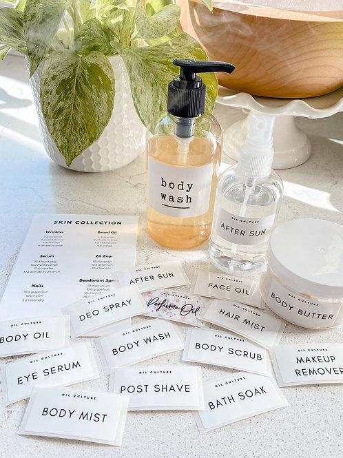 Beauty Label Set