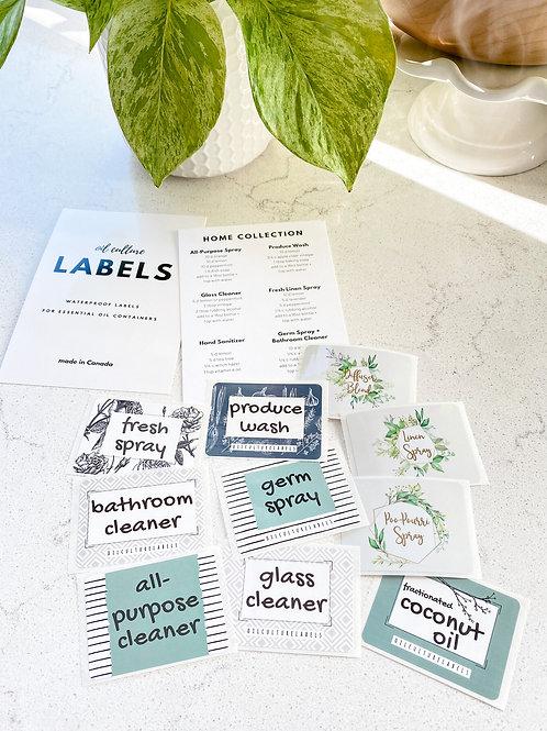 Home Label Set