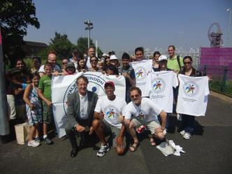 米国オリンピアンズ協会の ロンドン五輪応援プログラム Walk to London 2012が目標達成! ミシェル・オバマ大統領夫人から感謝レター