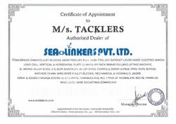 Selinkers Certificate