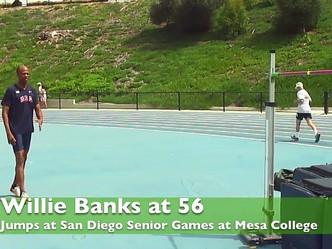 ウィリー・バンクスが走り高跳びで米国マスターズ記録(55-59歳の部)を更新!