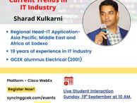 Alumni Connect Series Current trends in IT Industry I Sharad Kulkarni
