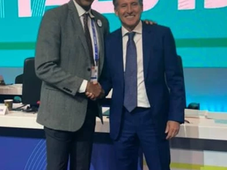 Banks elected as a council member of IAAF at the 52nd IAAF Congress in Doha