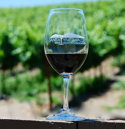 Santa Ynez wine glass