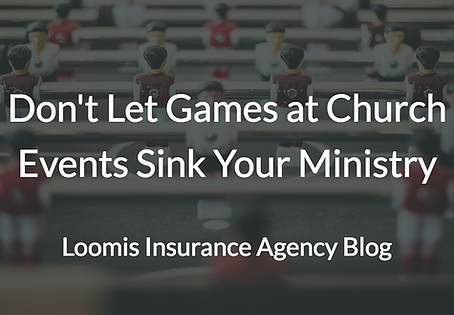 Play It Safe: Don't Let Games at Church Events Sink Your Ministry