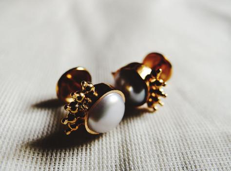 Black Boys & White Girl Earrings