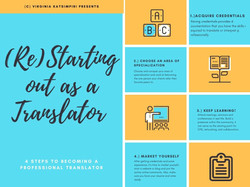 """Join """"Starting out as a Translator"""""""