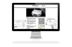 Web design for Auto Garage