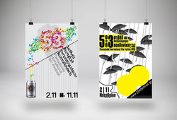 Poster design admition