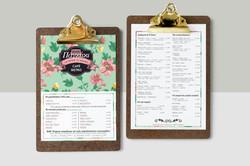 Menu Catalogue Design