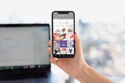 Digital design for Instagram