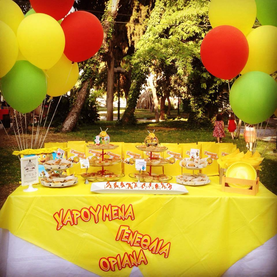 Maya the bee Birthday party