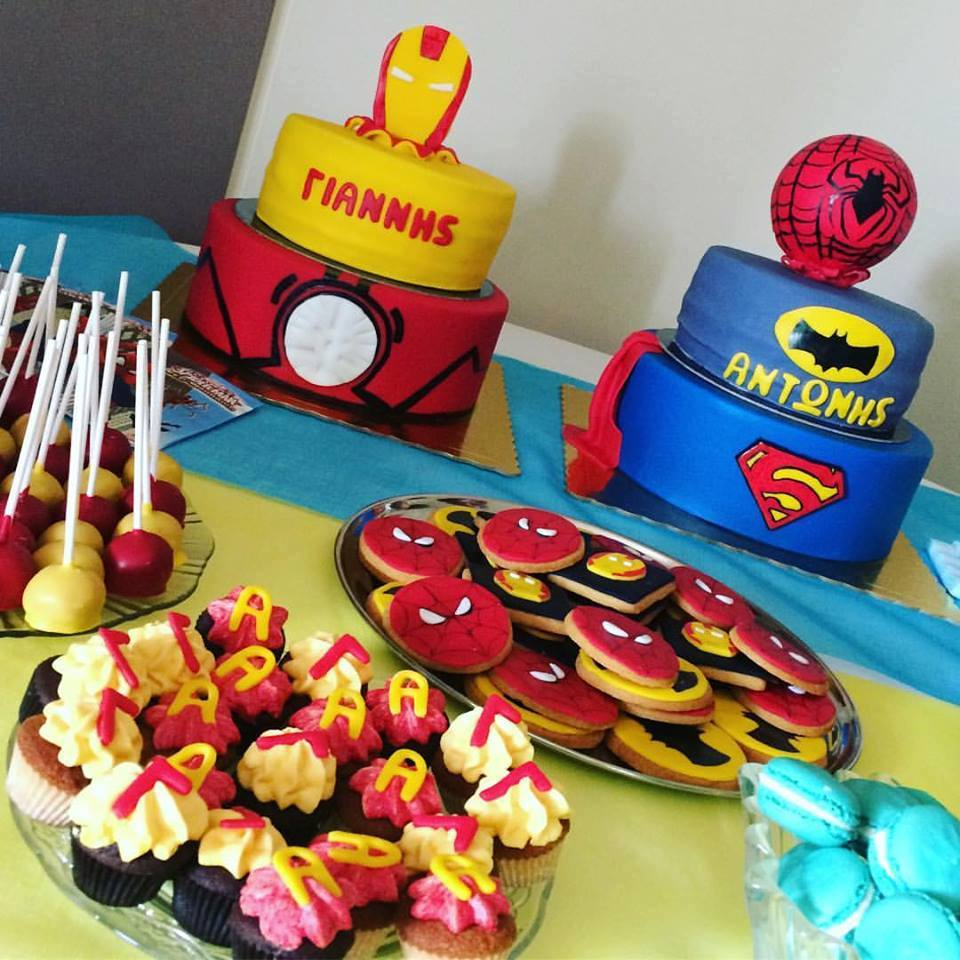 Marvel Birthday Candy bar