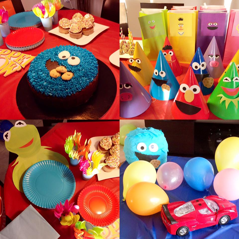 Muppet show birthday party