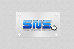 Logo reDesign for SNS Agency
