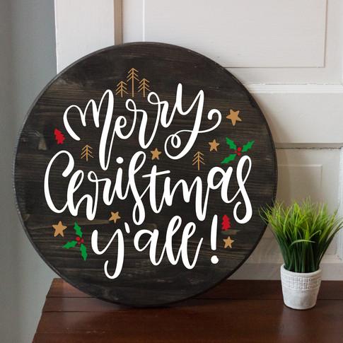 MERRY CHRISTMAS YALL