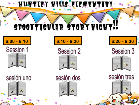 Join us for Spooktacular Story Night!