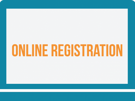 It's Time to Register Online