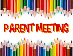 Upcoming Parent Meetings