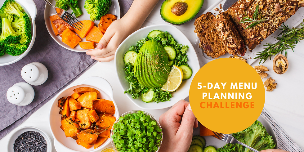 5-Day Meal Planning Challenge