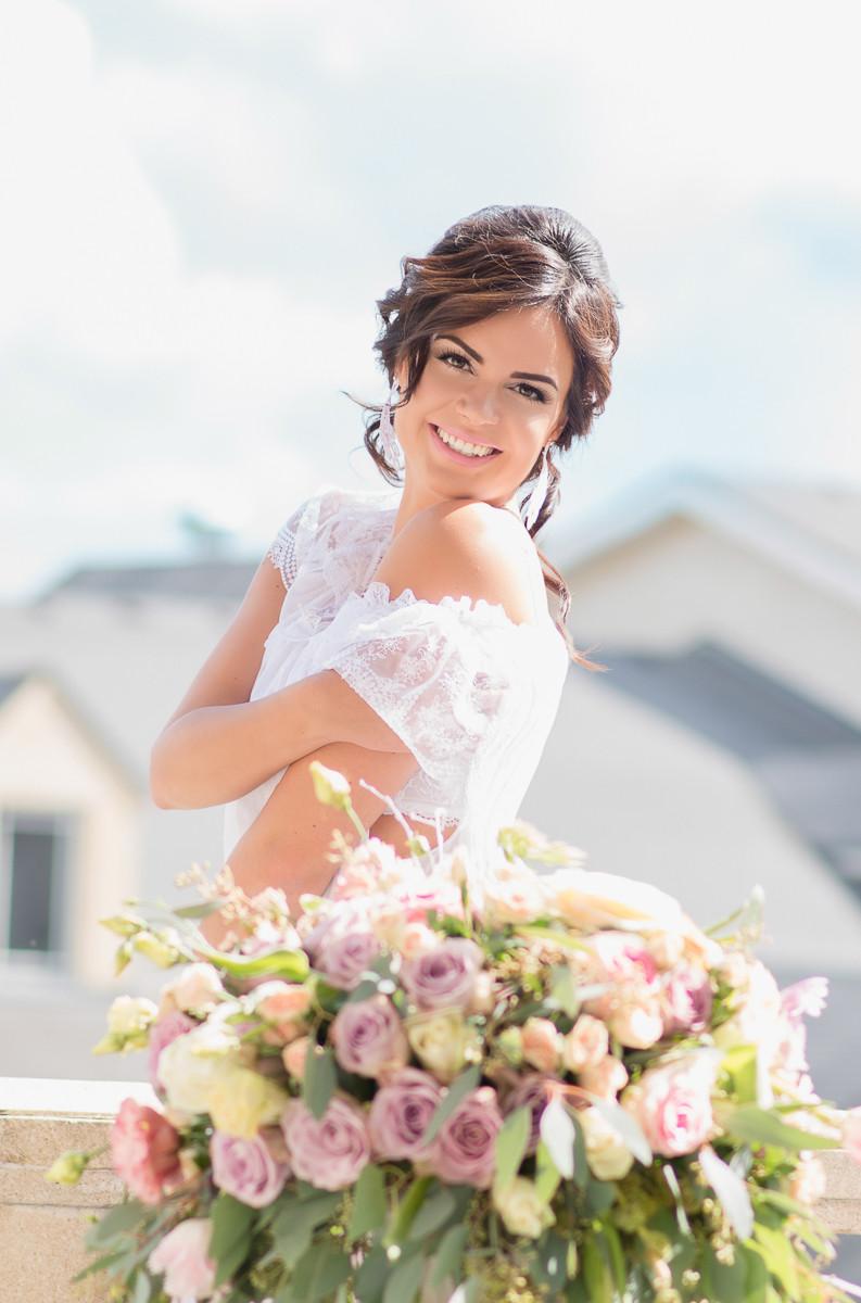 Очень красивая невеста