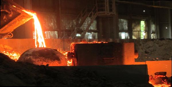 recupero di metalli ed inerti da scorie di acciaieria