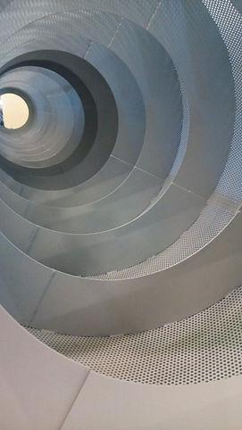 vaglio rotante a spirale per selezione e lavaggio metalli