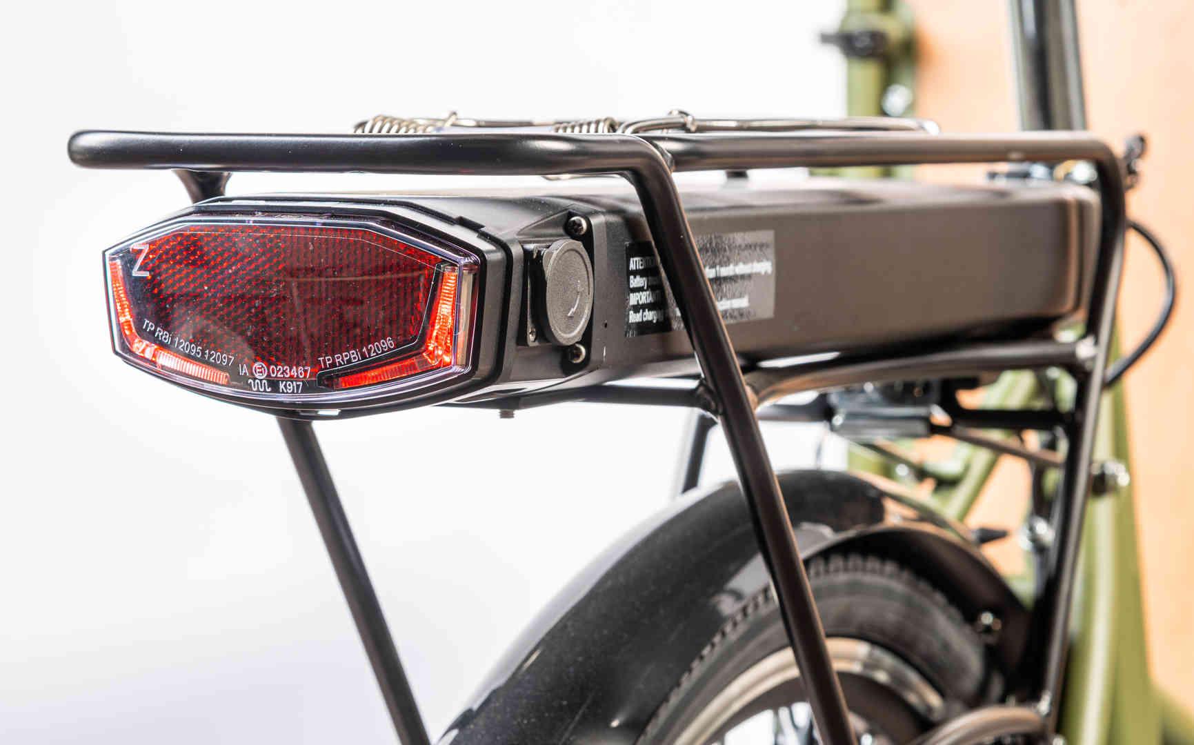 batteria al litio con autonomia di 40 Km
